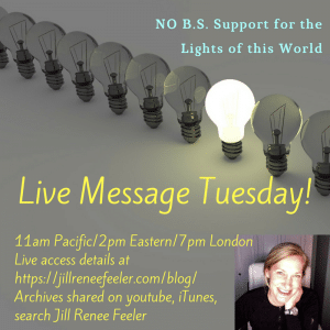 Weekly Global Message 11am Pacific/2pm Eastern/7pm London