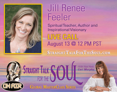 Jill and Cari Murphy dive into Deep Soulful Conversation Sunday Aug. 13 12pm Pacific/3pm Eastern